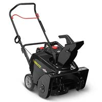 Brute 22 inch Brute 22-inch Gas 1-Stage Snowblower 163cc