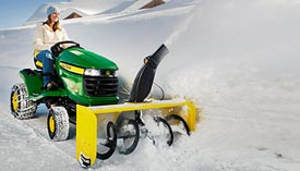 Snowblower attachments